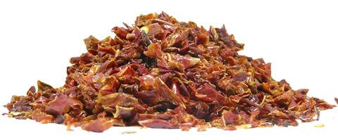 Πιπεριά κόκκινη σε νιφάδες - λαχανικά αποξηραμένα