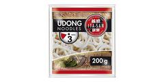 Noodles Udon (χονδρά, προμαγειρεμένα) 200gr - ασιατικά