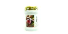 Κεριά λευκά Τ20 με καπάκι (1 ημέρας) - εκκλησιαστικά είδη
