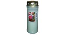Κεριά λευκά με καπάκι Τ40 (2 ημερών) - εκκλησιαστικά είδη
