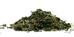 Πράσινο τσάι με βανίλια, φράουλα - τσάγια