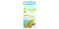 Γάλα αμυγδάλου 1lt βιολογικό  - χωρίς ζάχαρη