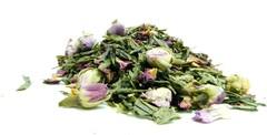 Πράσινο τσάι με τριαντάφυλλα - τσάγια