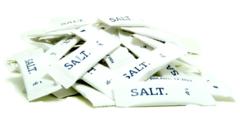 1000 τεμ αλάτι ψιλό μερίδες 1gr - μπαχαρικά