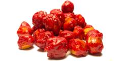 φουντούκι καραμελωμένο με άρωμα φράουλας - snacks