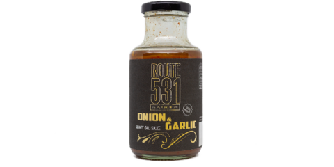 ONION & GARLIC SWEET CHILLY SAUCE 250GR