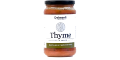 Thyme pizza sauce 330gr - ζυμαρικά