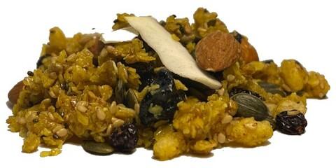 spicy & protein granola