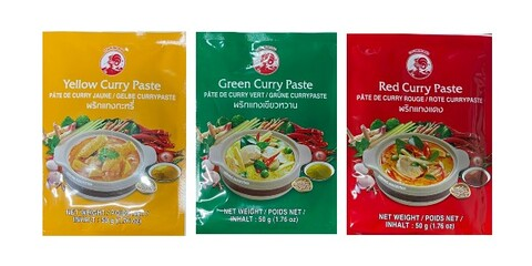 Curry Paste 50gr