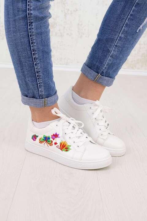 Ανοιξιάτικα Sneakers - Λευκό