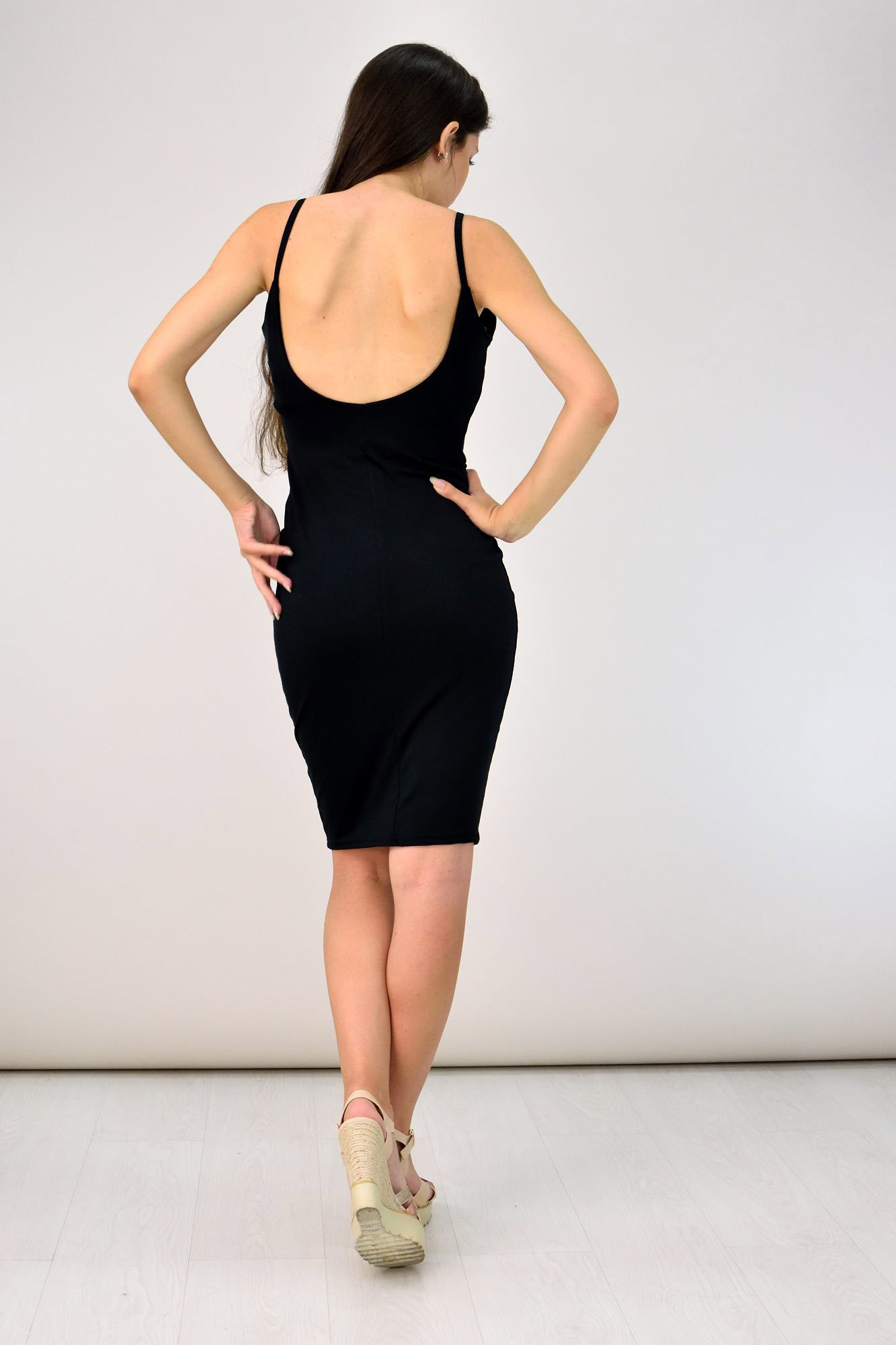 1807c30cf24 Midi εξώπλατο φόρεμα | Βραδινά Φορέματα | POTRE