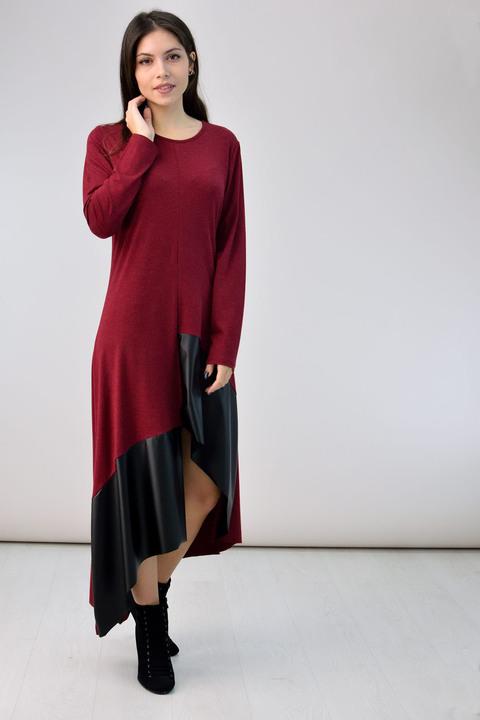 Μακρύ φόρεμα - Μπορντώ