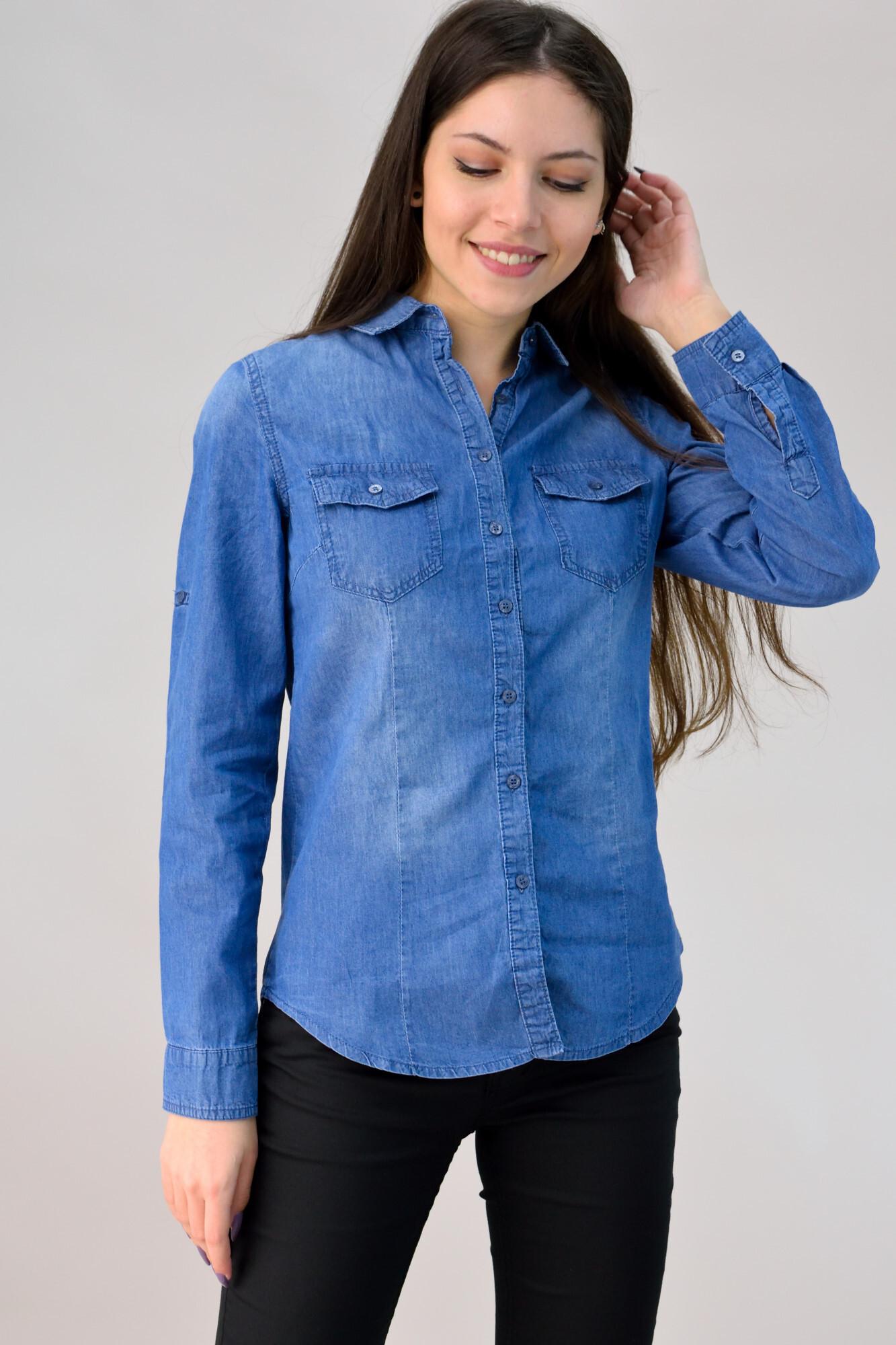 80036876b2e6 Τζιν πουκάμισο