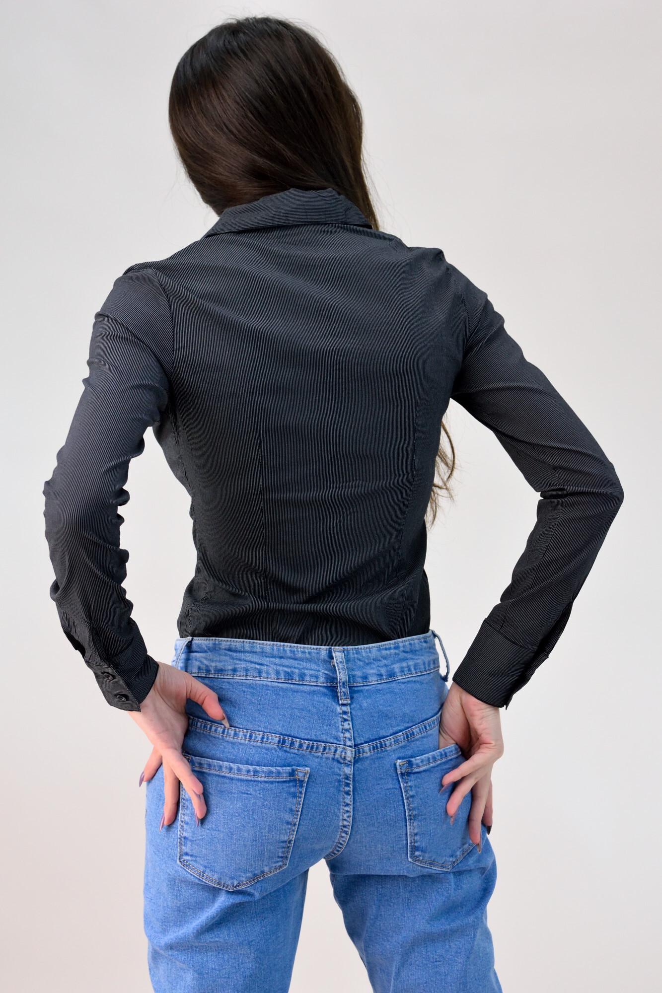 f7599f897c8a Κορμάκι πουκάμισο με λεπτή ρίγα. Tap to expand