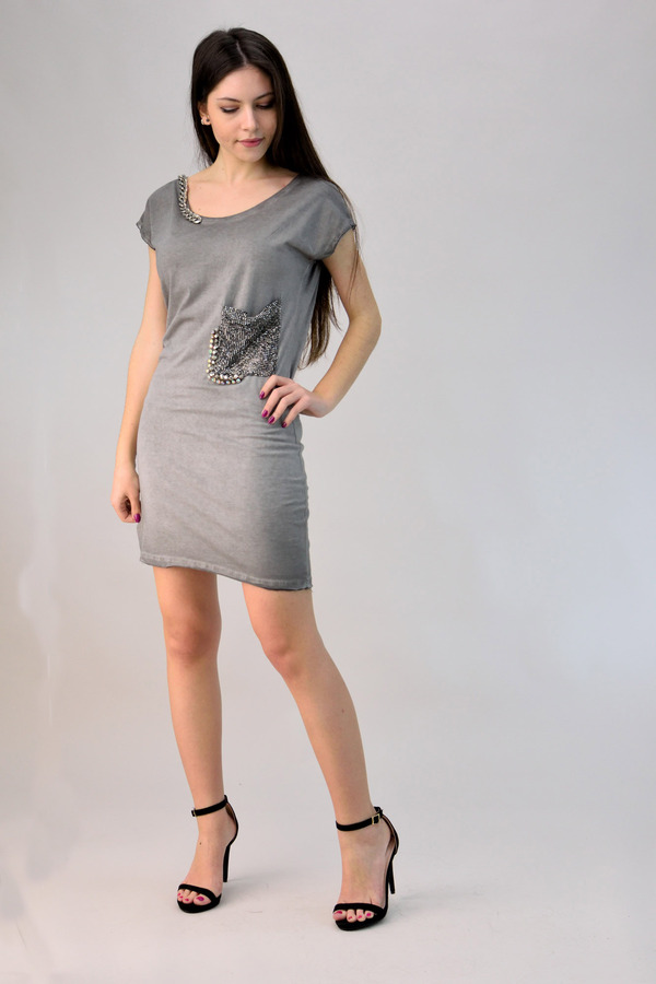 da13b391d4d Φόρεμα μίνι με τρουκ   POTRE