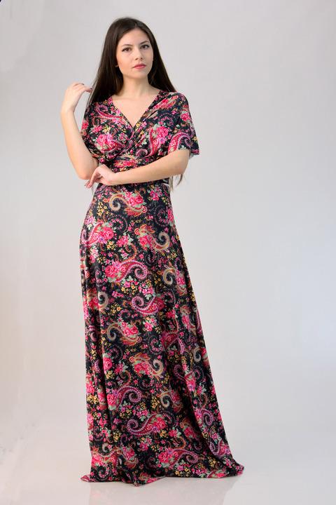 Πολυμορφικό φόρεμα - Κόκκινο