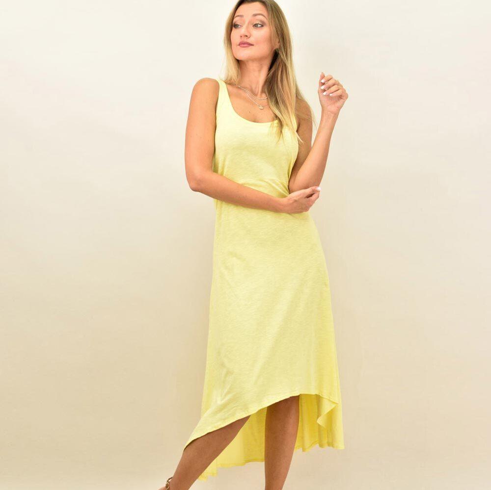 Φόρεμα ασύμμετρο με αθλητική πλάτη
