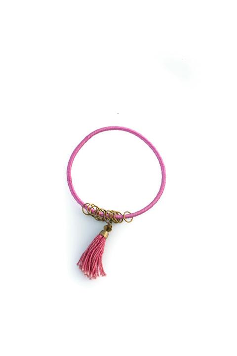 Βραχιόλι ethnic style - Ροζ