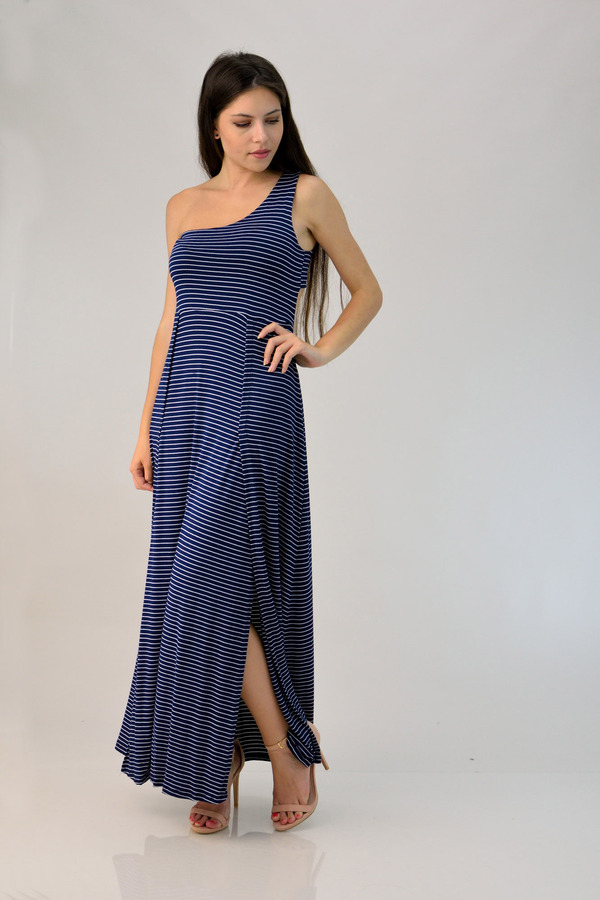 80b59321727e Φόρεμα μάξι με έναν ώμο | POTRE