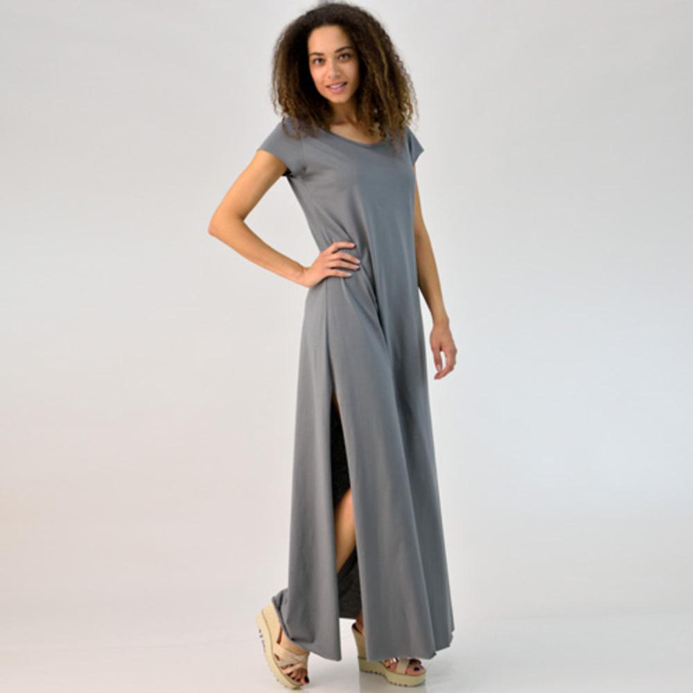 Φόρεμα μάξι με ανοίγματα