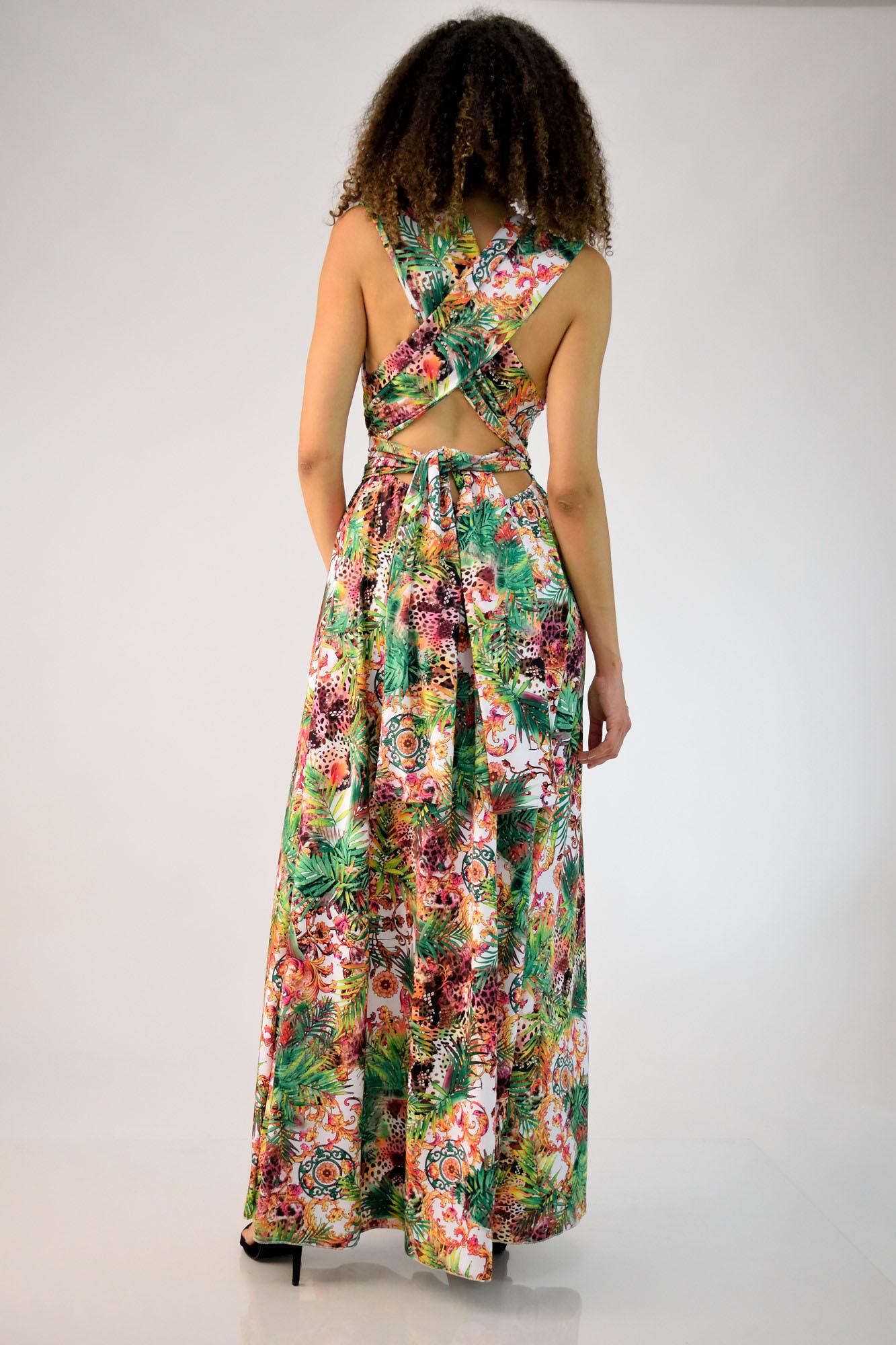 92d2d48aff8 Πολυμορφικό φόρεμα φλοράλ | Βραδινά Φορέματα | POTRE