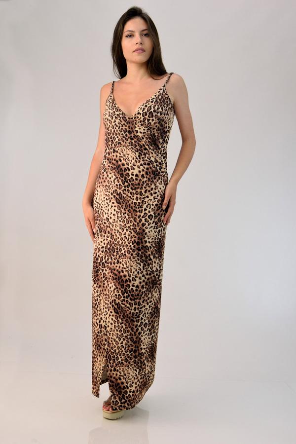 76575a01e07c Πολυμορφικό φόρεμα animal print - Animal Print ...