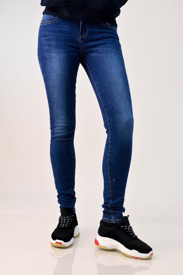 637d0bd6a4ea Παντελόνι τζιν basic skinny - Μπλε Τζιν ...