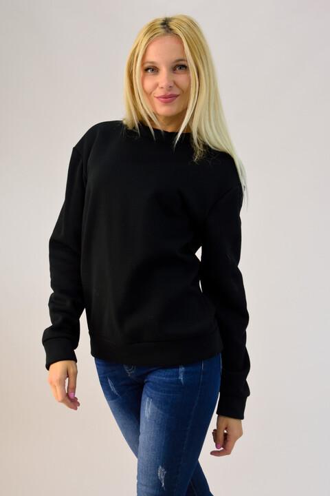 Μπλούζα φούτερ - Μαύρο