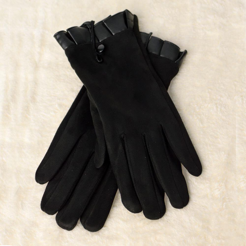 Γυναικεία βελούδινα γάντια