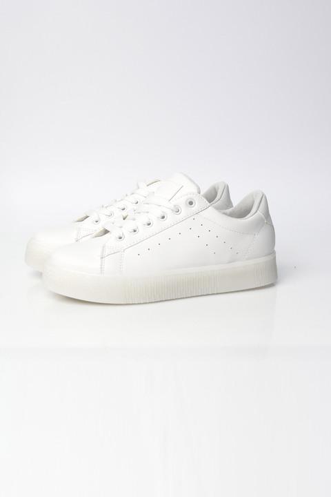 Γυναικεία παπούτσια sneakers λευκά - Λευκό