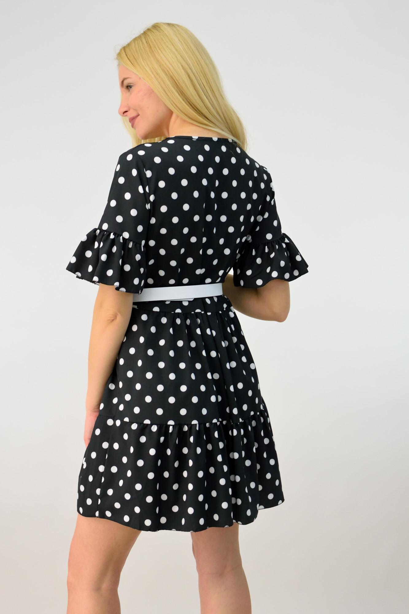 2ce0b3780c96 Γυναικείο φόρεμα μίνι πουά. Tap to expand