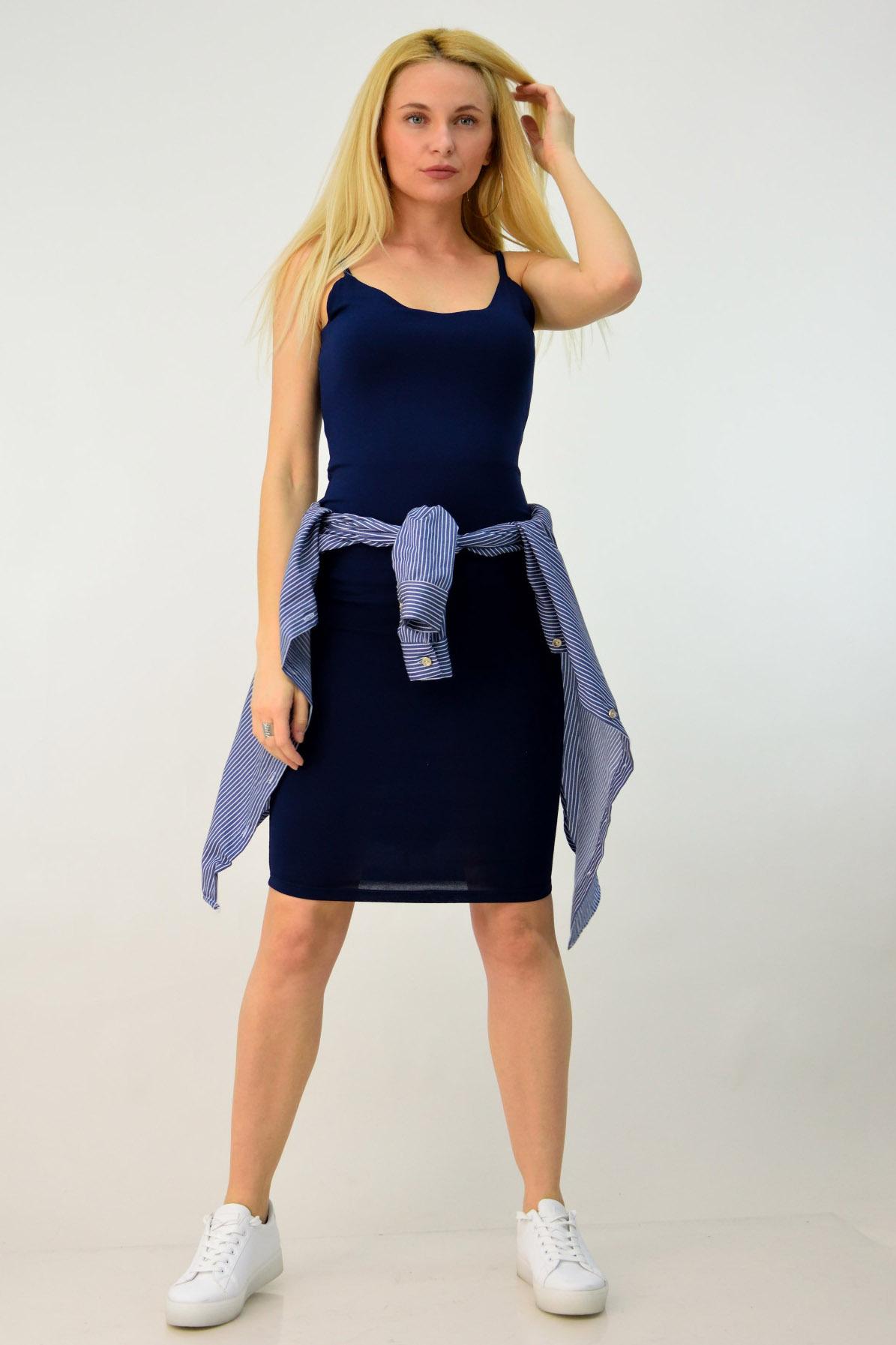 f7e5c9a53a95 Για το τέλος αφήσαμε την πιο ενδιαφέρουσα και παιχνιδιάρα πρόταση μας!  Φαντάστηκες ποτέ ότι το καρό φόρεμα σου μπορεί να μετατραπεί εύκολα στο  αγαπημένο σου ...