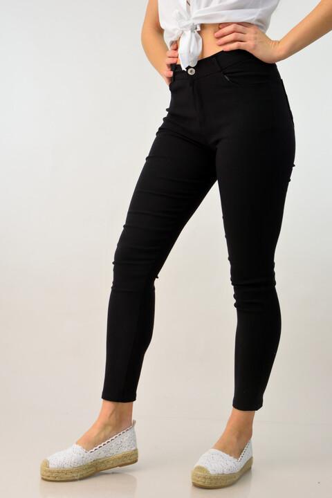 Γυναικείο παντελόνι skinny - Μαύρο