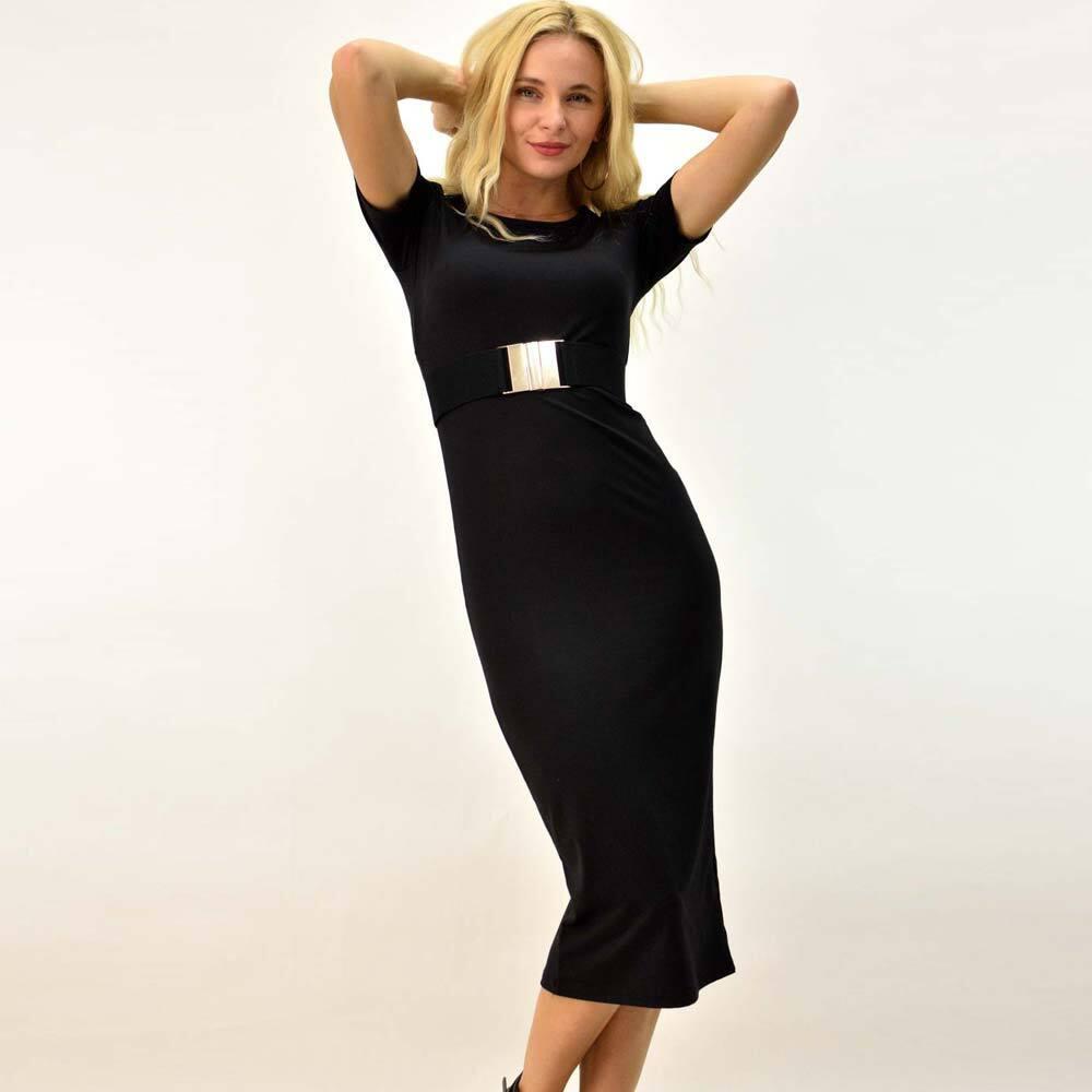 Γυναικείο φόρεμα εφαρμοστό midi