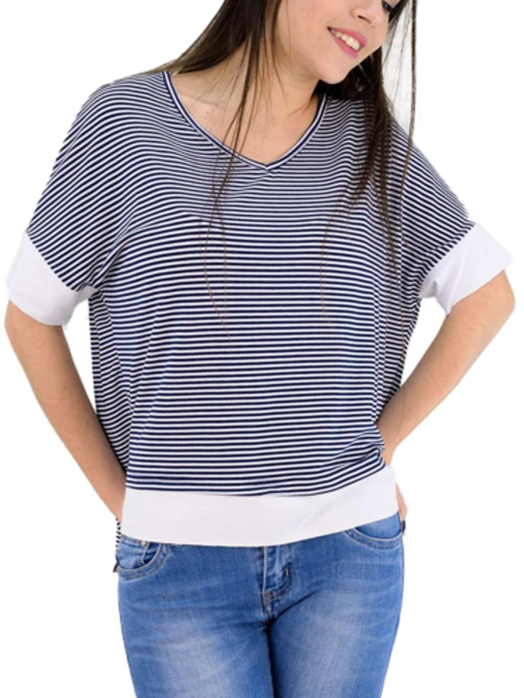 9bdf267cb09d Γυναικεία μπλούζα ριγέ