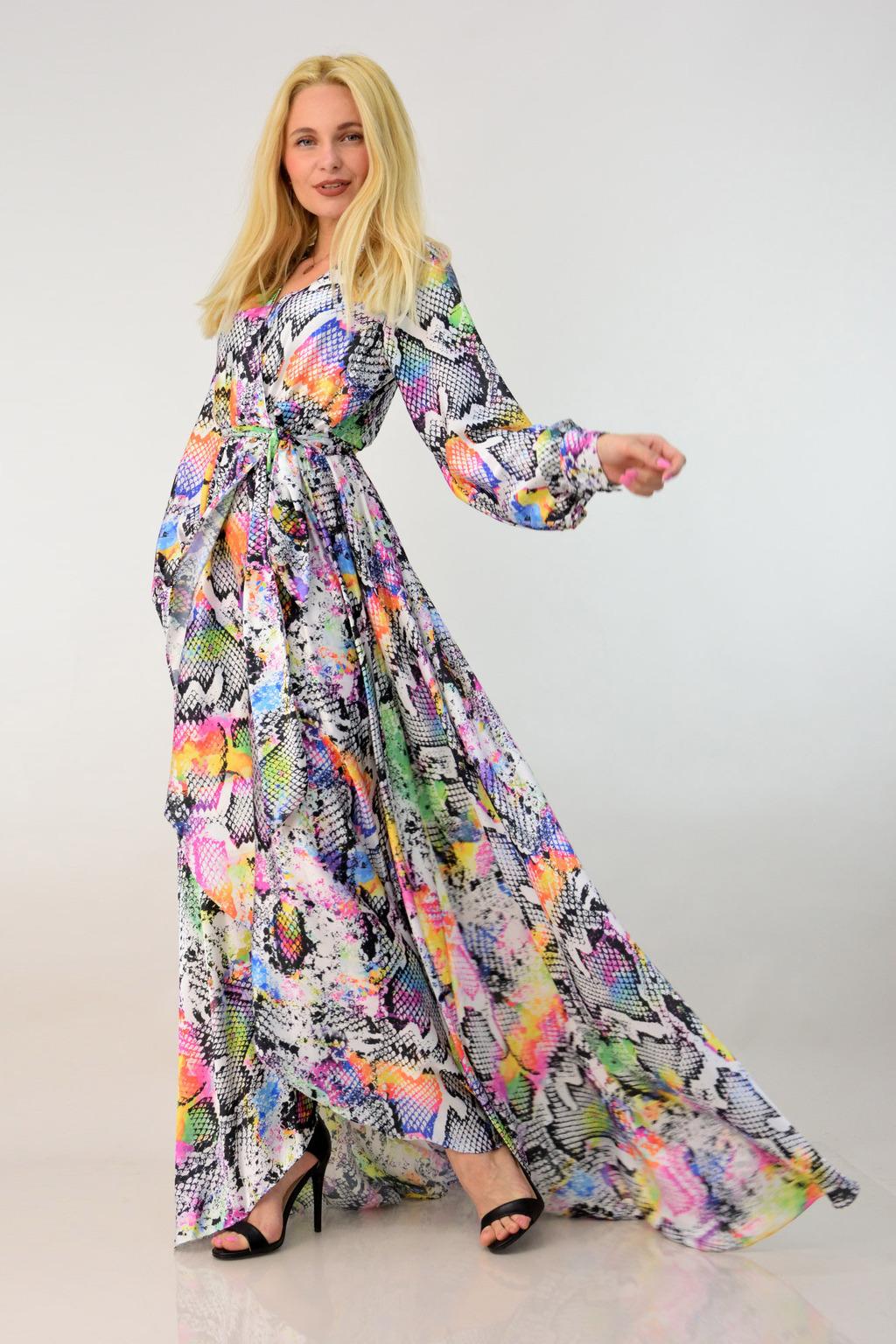 0b651576bc35 Μακρύ φόρεμα επίσημο. Tap to expand