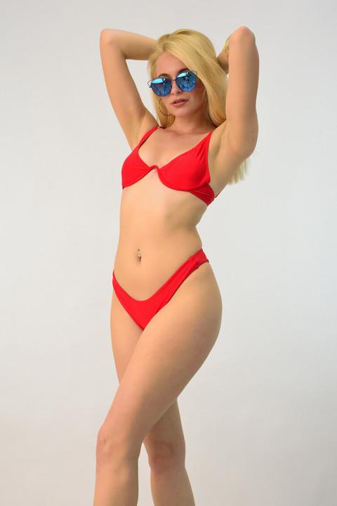 Σετ μπικίνι brazilian - Κόκκινο