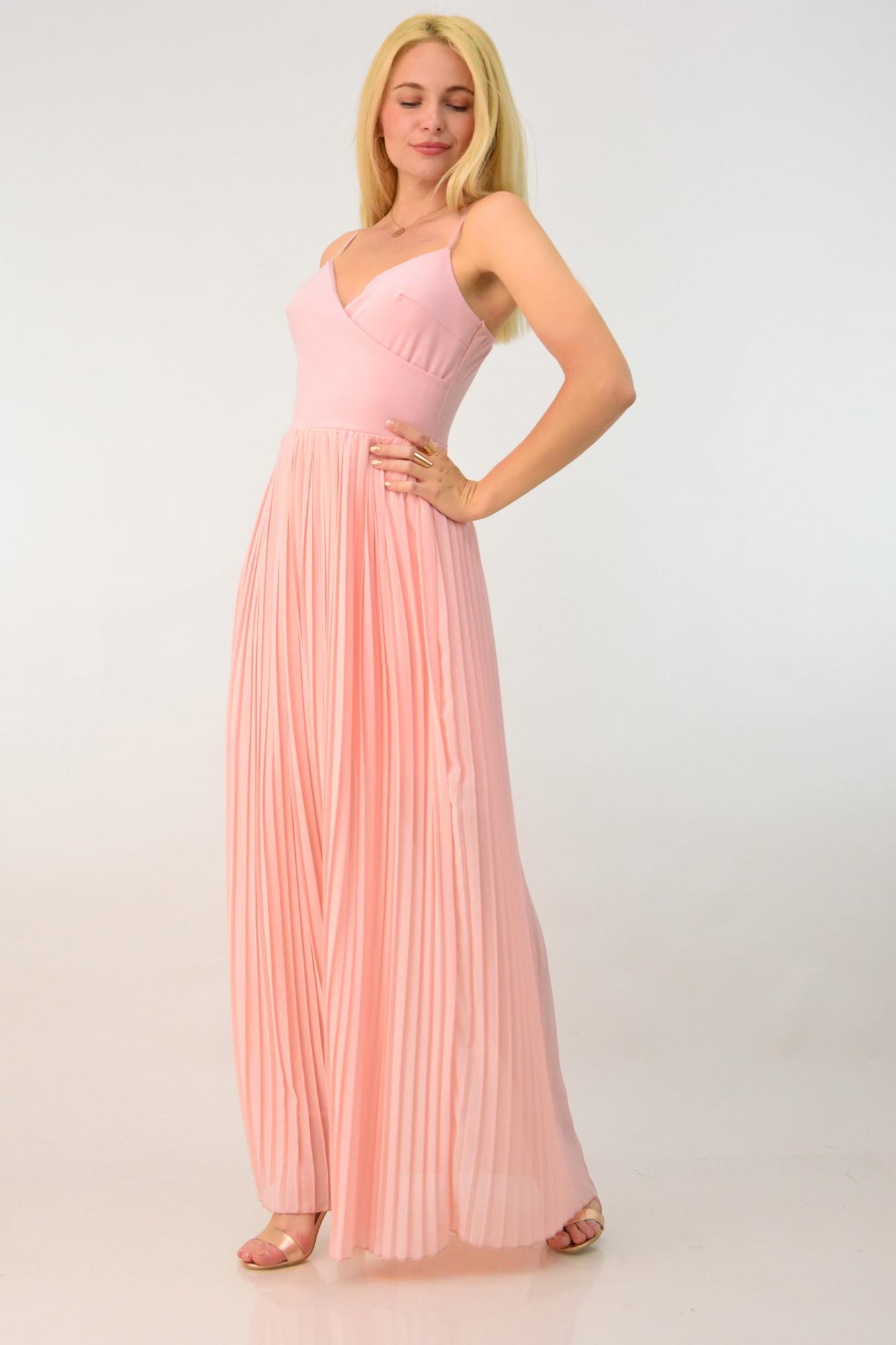 40566308970 Φόρεμα για γάμο πλισέ | Βραδινά Φορέματα | POTRE