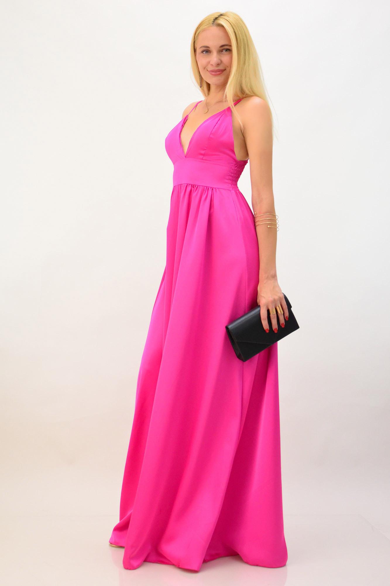 e580a828510 Μακρύ φόρεμα σατέν | Βραδινά Φορέματα | POTRE