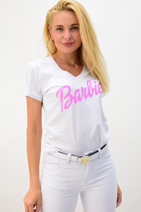 Γυναικείο t-shit barbie - Λευκό