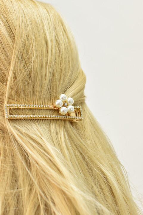 Γυναικείο τσιμπιδάκι μαλλιών - Χρυσό
