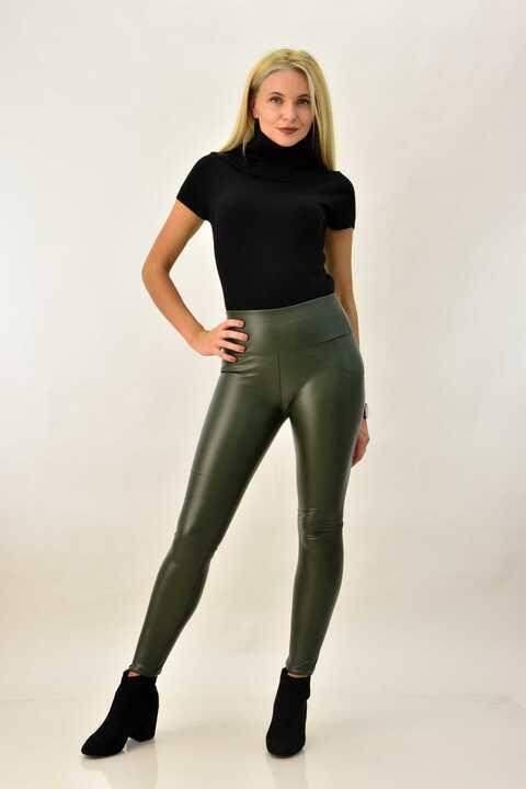 Γυναικείο κοντομάνικο μπλουζάκι ζιβάγκο - Μαύρο