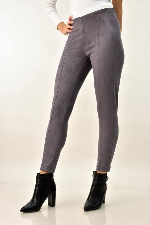 Παντελόνι σουετ skinny - Ανθρακί