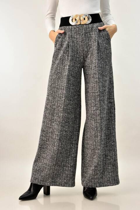 Παντελόνα με τσέπες  - Γκρι