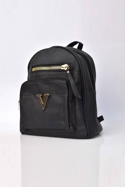Γυναικεία τσάντα backpack - Μαύρο