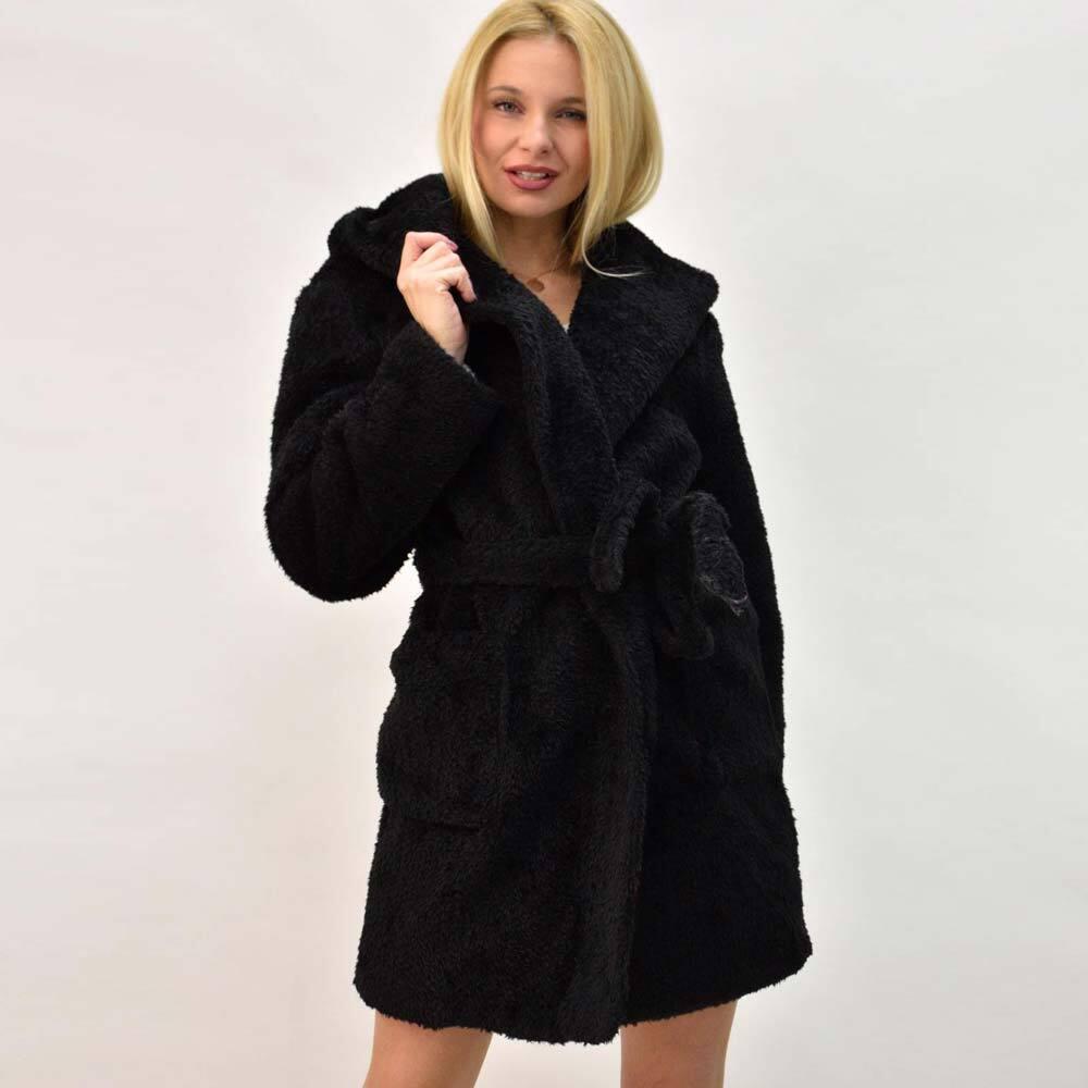 Γυναικείο παλτό γούνα
