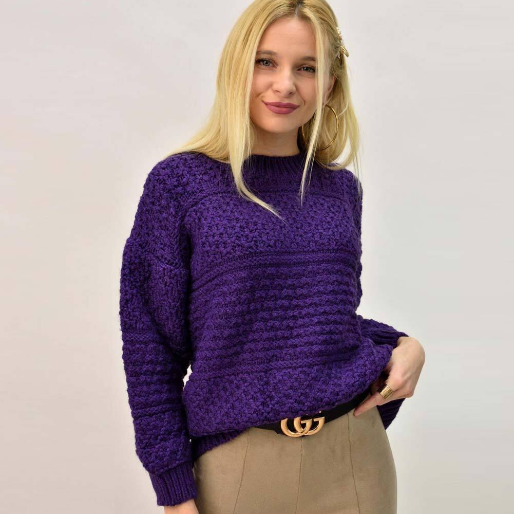 Γυναικείο oversized πουλόβερ