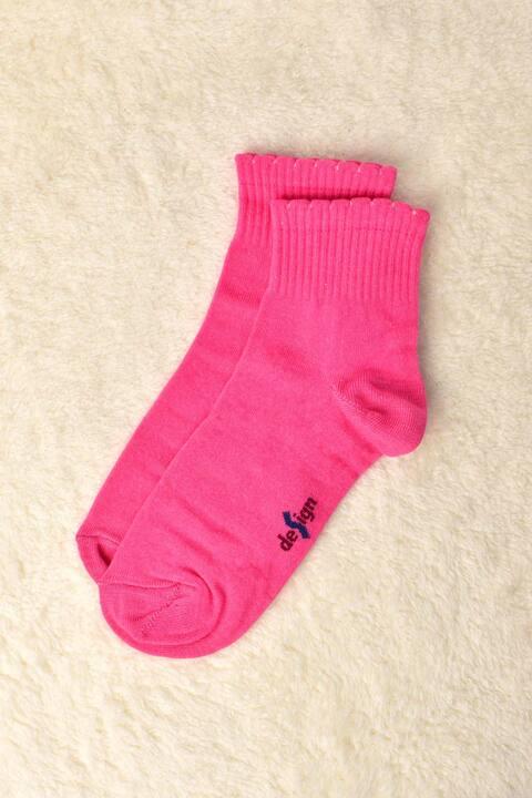 Γυναικείες κάλτσες μονόχρωμες - Φούξια
