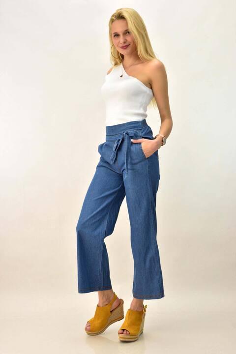 Γυναικεία παντελόνα - Μπλε