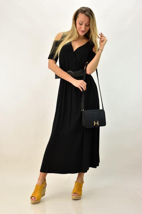 Γυναικείο κρουαζέ φόρεμα για μεγάλα μεγέθη -